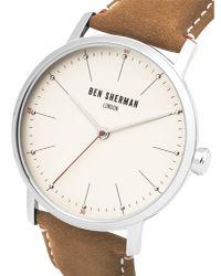 Ben Sherman - Brown Portobello Touch Watch for Men - Lyst