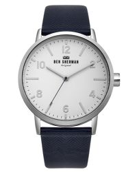 Ben Sherman - Blue Portobello Herringbone Watch for Men - Lyst