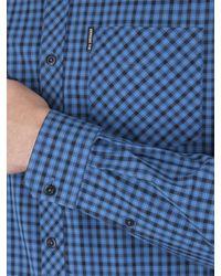 Ben Sherman - Blue House Check Shirt for Men - Lyst