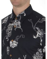 Ben Sherman | Blue Short Sleeve British Hawaiian Shirt for Men | Lyst
