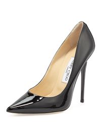 Jimmy Choo - Black 120mm Anouk Patent Leather Pumps - Lyst
