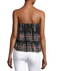 Joie - Black Lyane Convertible Tiered Silk Top/skirt - Lyst