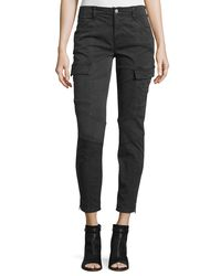 J Brand | Green Houlihan Skinny Cargo Ankle Pants | Lyst