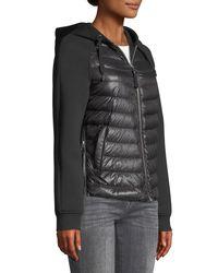 Mackage - Black Yori Combo Jacket W/ Hood - Lyst