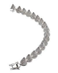 Eddie Borgo - Metallic Small Pave Cone Bracelet - Lyst