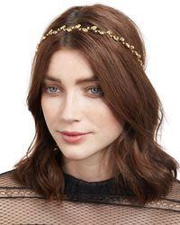 Jennifer Behr - Multicolor Carolina Leaf Circlet Headband - Lyst