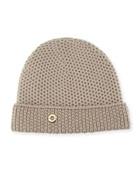 Loro Piana - Red Rougement Chain-knit Cashmere Beanie Hat - Lyst