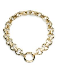 Eddie Borgo - Metallic O-ring Chain Necklace - Lyst