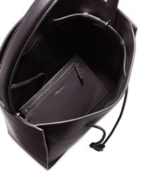 3.1 Phillip Lim - Purple Soleil Large Leather Drawstring Bucket Bag - Lyst