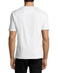 Z Zegna | White Techmerino Jersey Short-sleeve Shirt for Men | Lyst