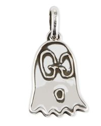 Gucci - Black Ghost Sterling Silver Charm - Lyst