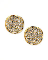 Ippolita | Metallic Stardust Diamond Stud Earrings | Lyst