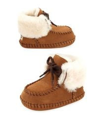 Ugg | Brown Sparrow Moccasin Bootie | Lyst