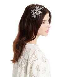 Jennifer Behr - Metallic Galaxy Swarovski® Crystal Headband - Lyst