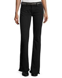 IRO - Black Freddy Flare Denim Jeans - Lyst