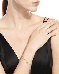 Ippolita - White 18k Rock Candy 8-stone Bangle In Flirt - Lyst
