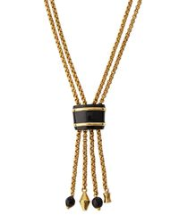 Ashley Pittman - Metallic Msanii Long Bronze Tassel Necklace - Lyst