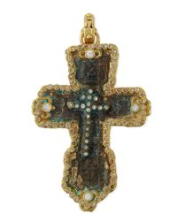 Armenta | Metallic Sueño 18k Gold Fleur Artifact Enhancer With Diamonds | Lyst
