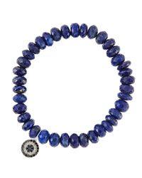 Sydney Evan   Blue Design Your Own Bracelet (made To Order)   Lyst