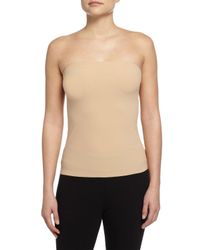Commando   Natural Strapless Cami Top   Lyst