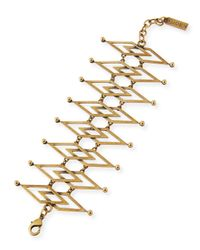 Auden | Metallic Dakota Brass Cuff Bracelet | Lyst