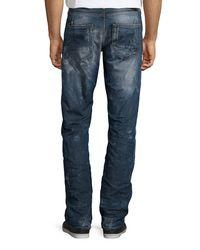 PRPS - Blue Straight Leg Jean for Men - Lyst