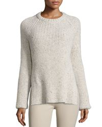 JOSEPH | Multicolor Ribbed Melange Wool-blend Sweater | Lyst