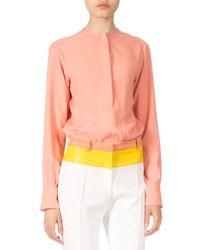 Altuzarra - Multicolor Long-sleeve Tunic Blouse - Lyst