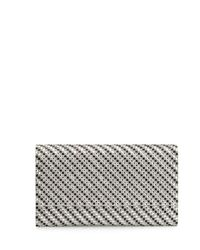 Judith Leiber Couture | Gray Manhattan Crystal Evening Clutch Bag | Lyst