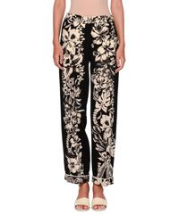 Valentino - Black Tropical Dream Silk Pajama Blouse - Lyst