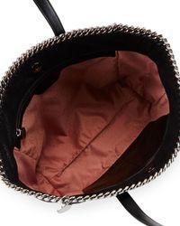 Stella McCartney - Black Falabella East-west Shopper Tote Bag - Lyst