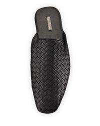 Bottega Veneta - Brown Leather Intrecciato Slip-on Shoe for Men - Lyst
