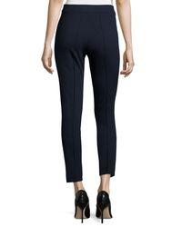 Akris Punto - Multicolor Stretch Jersey Skinny Pants - Lyst