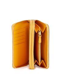 Anya Hindmarch | Orange Circulus Double Wallet | Lyst