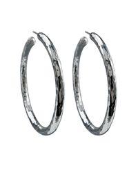 Ippolita | Metallic 925 Glamazon #4 Skinny Bastille Hoop Earrings | Lyst