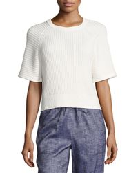 Theory - Yellow Mayalee Prosecco Sweater - Lyst