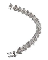 Eddie Borgo   Metallic Small Pave Cone Bracelet   Lyst