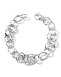 Ippolita | Metallic Sterling Silver Charm Bracelet | Lyst