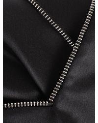 Helmut Lang - Black Silk Slip Dress - Lyst