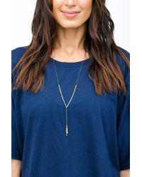 Gorjana - Multicolor Power Gemstone Necklace/ Laboradite - Lyst