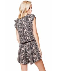 Bishop + Young - Multicolor Print Romper - Lyst
