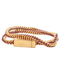 Bex Rox | Multicolor Gina Twisted Rose Gold Bracelet | Lyst