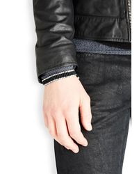 Vitaly - Metallic Arma Silver Tone Link Bracelet for Men - Lyst