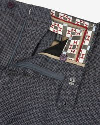 Ted Baker - Blue Cerstro Tailored Trousers for Men - Lyst