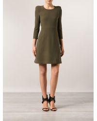 Chloé - Green Sable Dress - Lyst