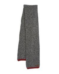 Polo Ralph Lauren | Black Ragg Wool Scarf for Men | Lyst