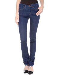 M.i.h Jeans - Purple The Nouvelle Jeans - Lyst