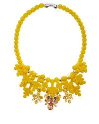 EK Thongprasert - Yellow Impatiens Fusion Silicone Necklace - Lyst