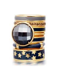 Astley Clarke - Black London Nights Ring - Lyst