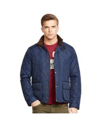 Polo Ralph Lauren - Blue Quilted Jacket for Men - Lyst